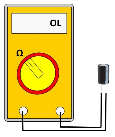 kondensator-messen-multimeter-ohm