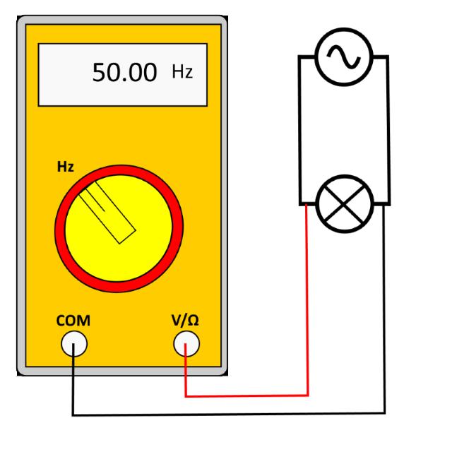 frequemzmessung multimeter skizze