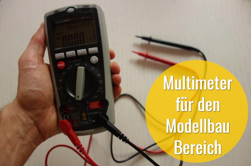 multimeter modellbau bereich
